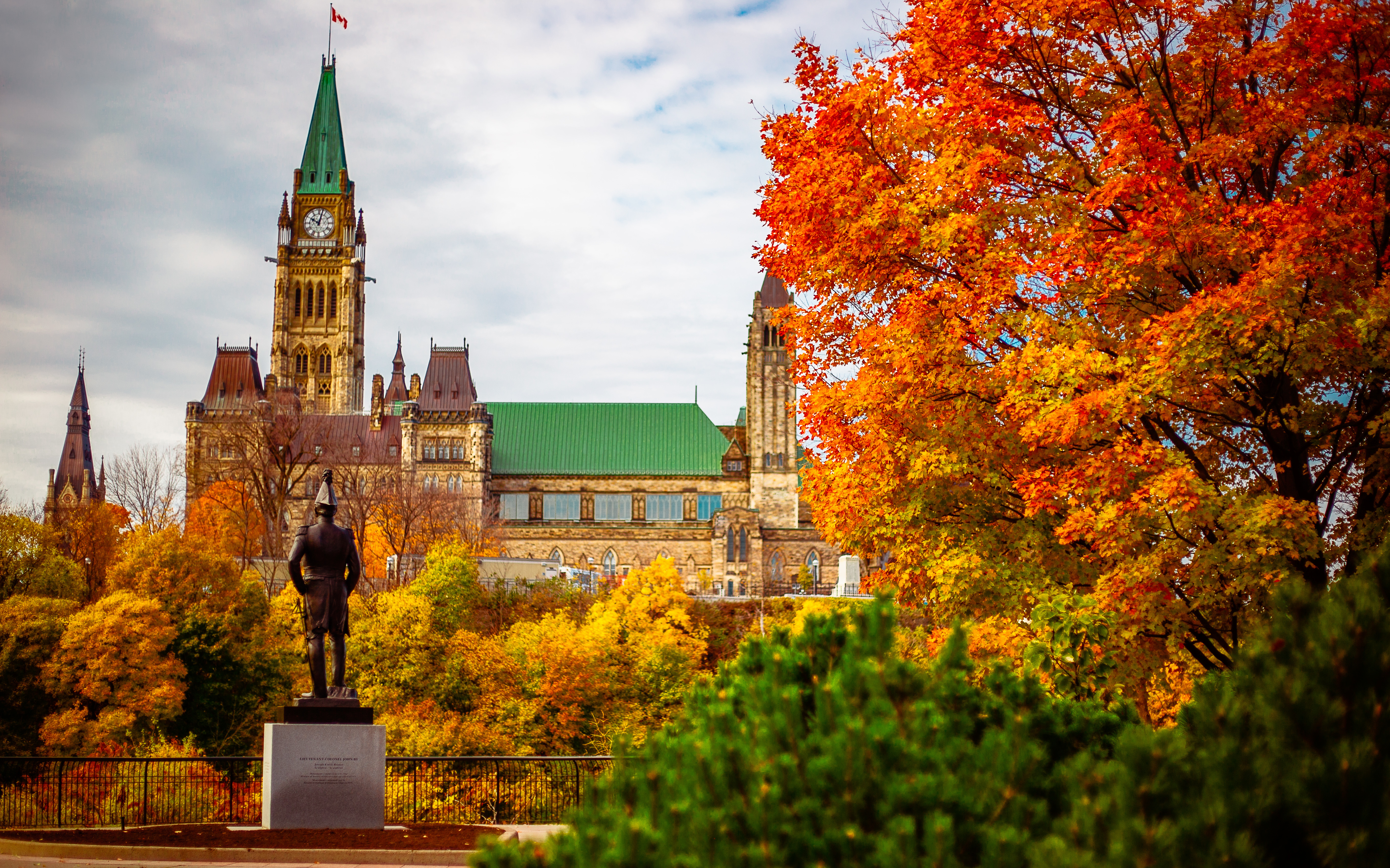 Parlement Hill à Ottawa