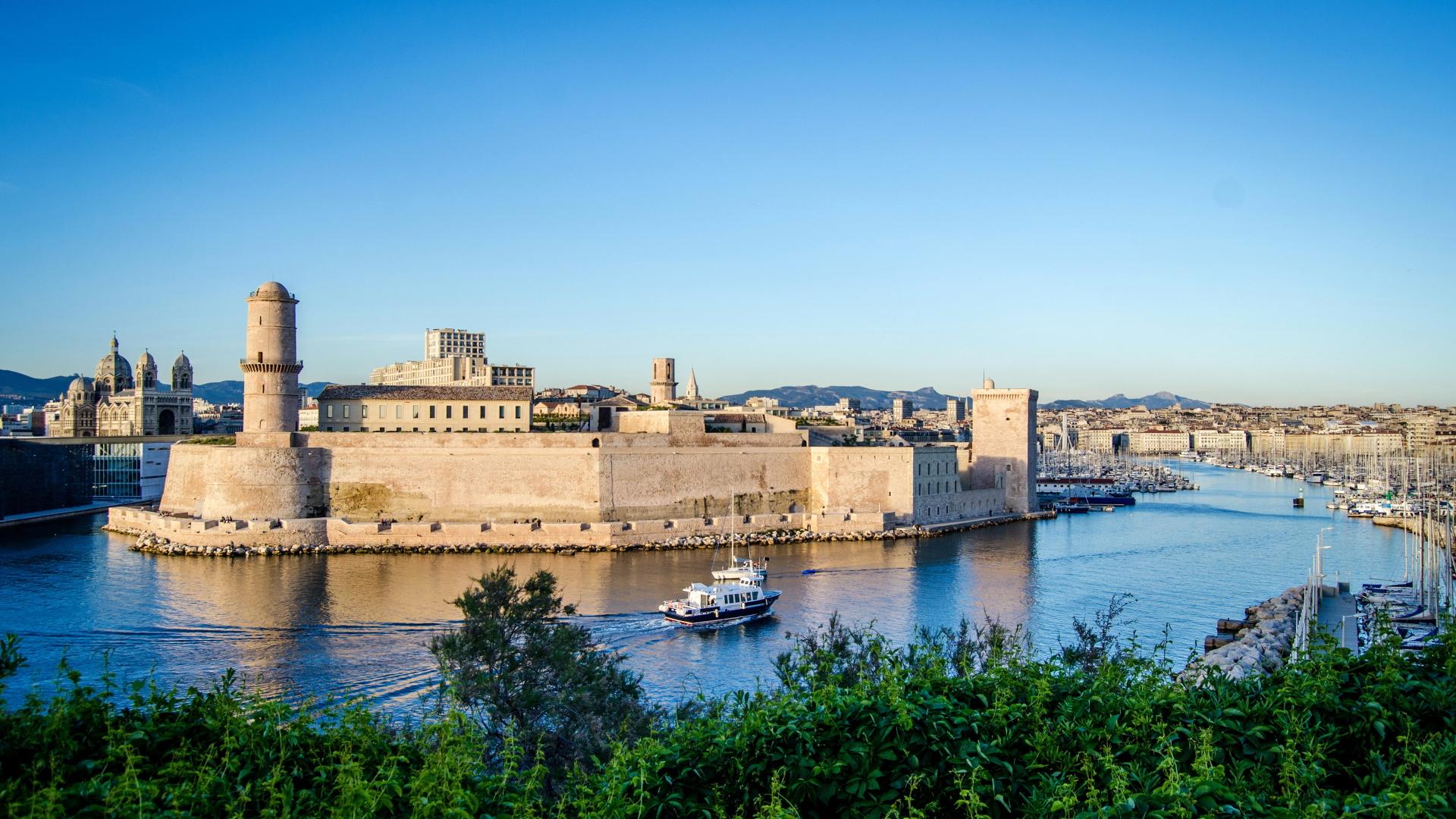 Landscape of Marseille