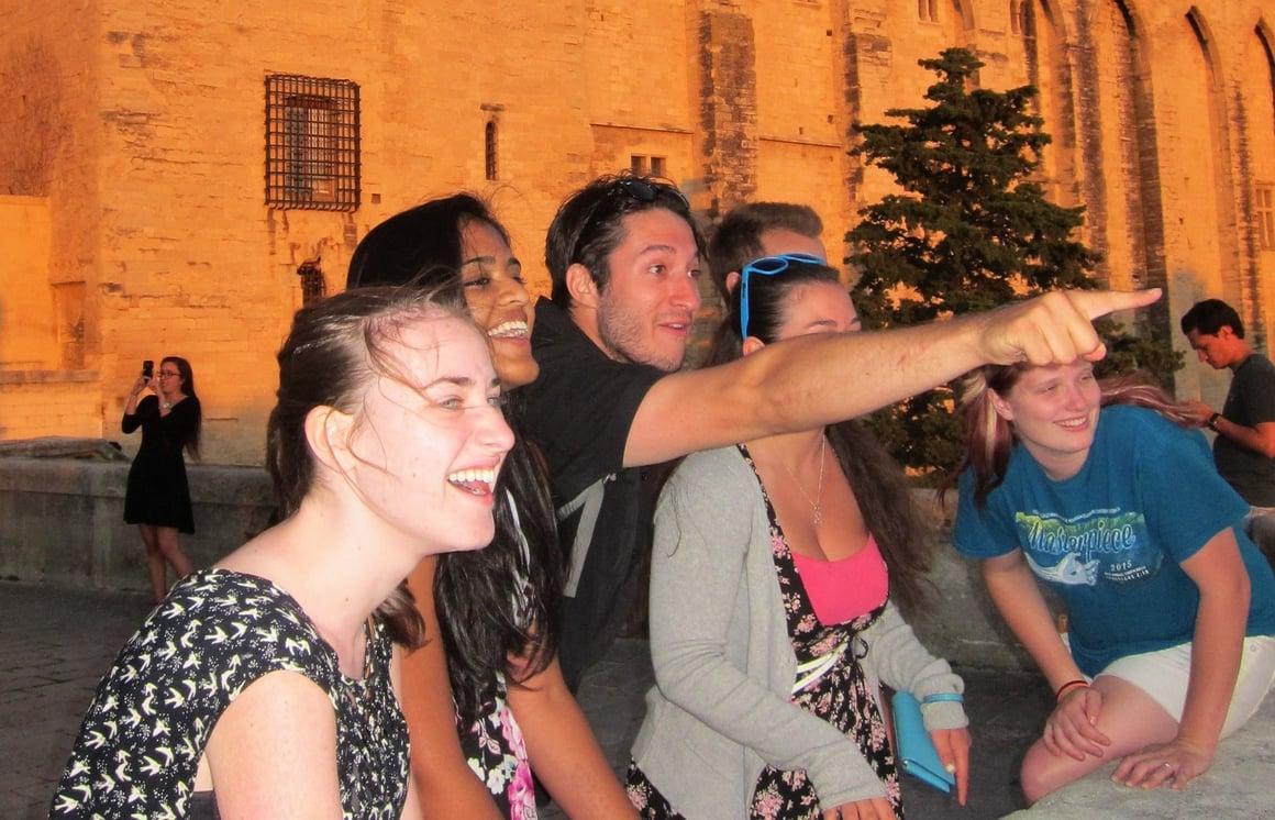 JSED_Europe_France_Carcassonne_Youth_Tour leader
