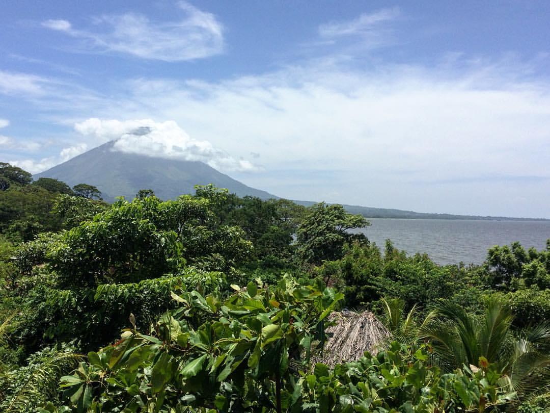 Vue sur une montagne au Nicaragua